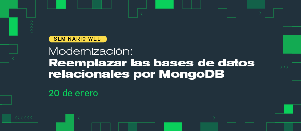 Modernización: Reemplazar las bases de datos relacionales por MongoDB